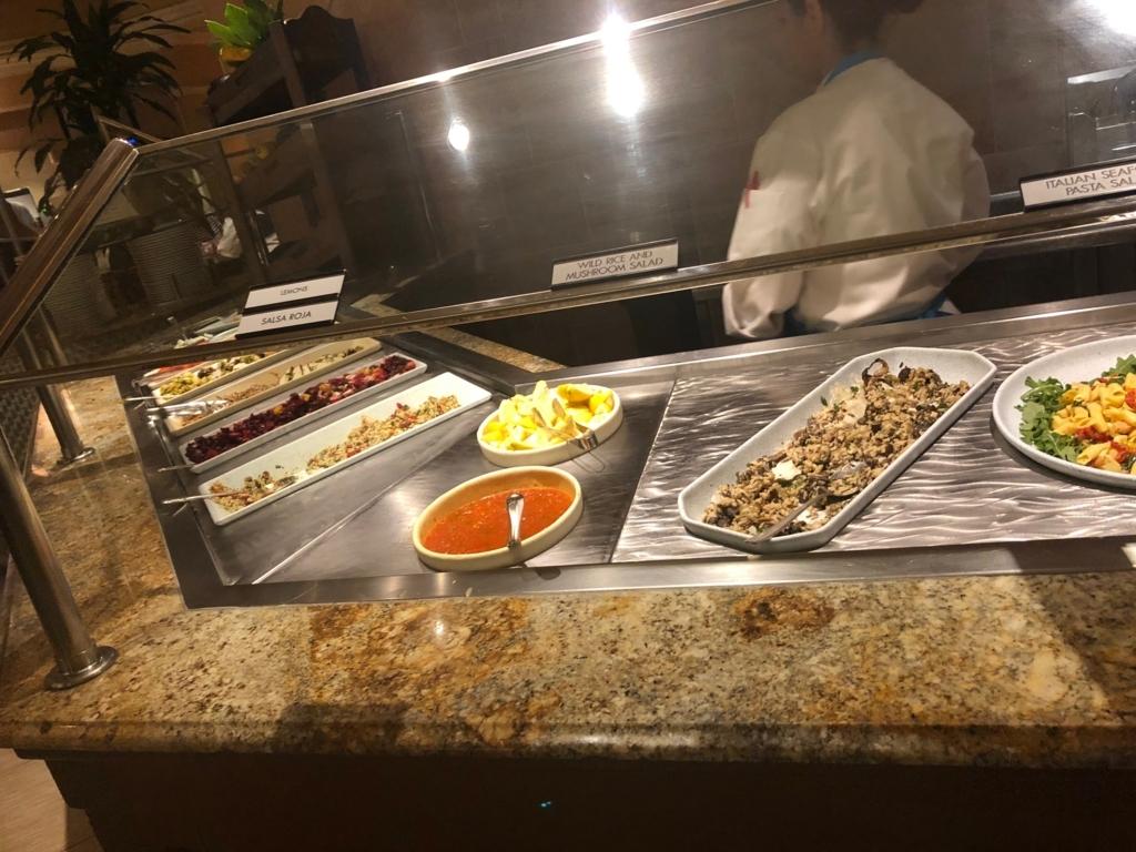 2018年2月 ラスベガス ベッラシオホテル 朝食バフェ 料理