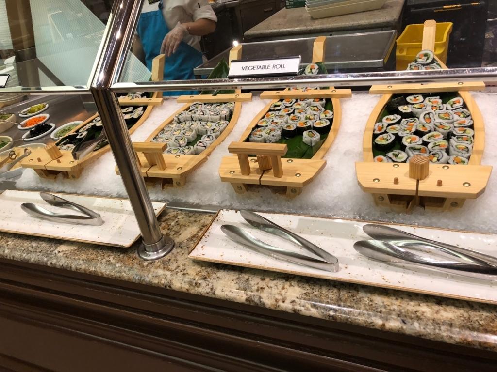 2018年2月 ラスベガス ベッラシオホテル 朝食バフェ xxロール