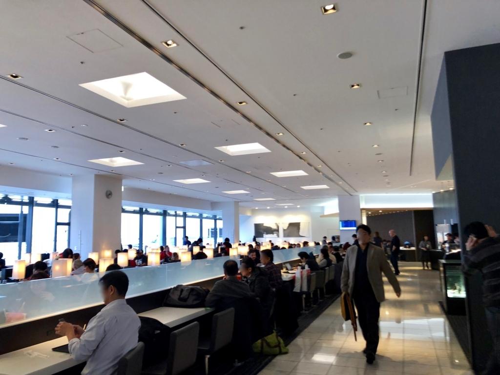 2018年2月 成田空港 国際線 ANAラウン