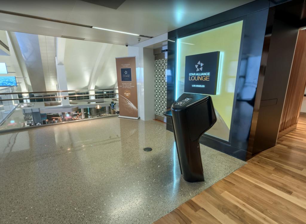 2018年2月 ロサンゼルス国際空港 国際線ターミナルTBIT スターアライアンスラウンジ 入り口 by www.google.co.jp