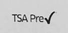 チケット TSA Pre プリント
