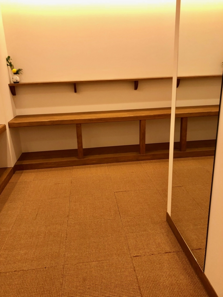 2018年3月 愛媛県道後温泉 「飛鳥乃湯泉」2階 女性更衣室