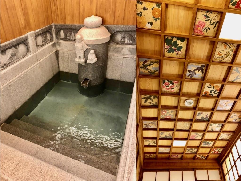 愛媛県 道後温泉 「飛鳥乃湯泉」 特越浴室2