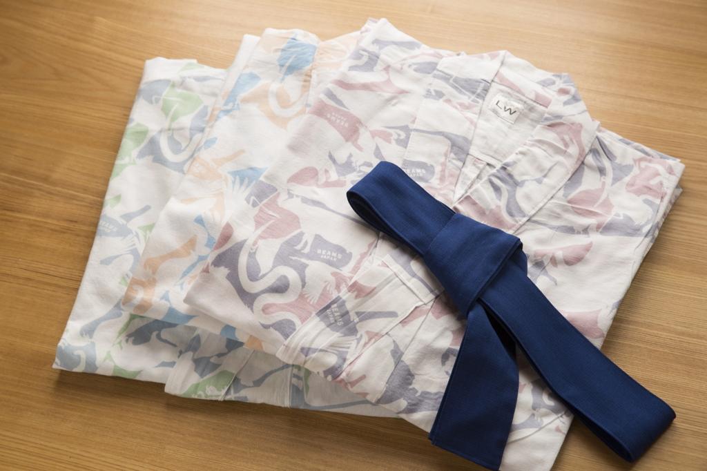 愛媛県道後温泉 「飛鳥乃湯泉」3色の浴衣 by dogo.jp