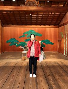道後温泉 「大和屋本館」能舞台 「千寿殿」能面体験