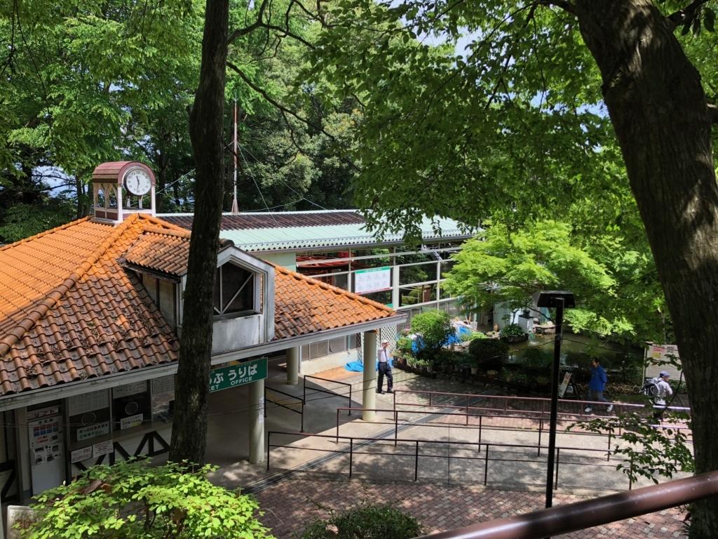 2018年5月 高尾山 一号路 リフト 山上駅