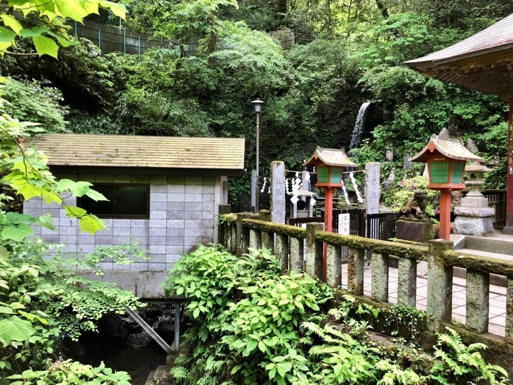 2018年5月 高尾山 琵琶滝
