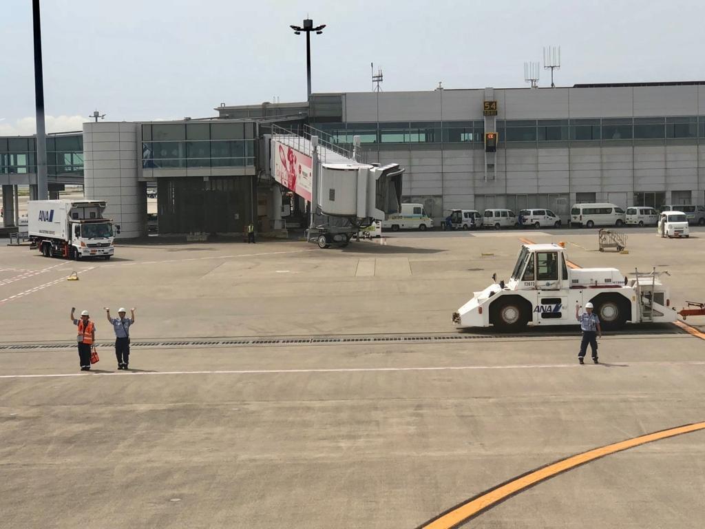 2018年5月 羽田空港 第2ターミナル 早朝 鹿児島へ お見送り