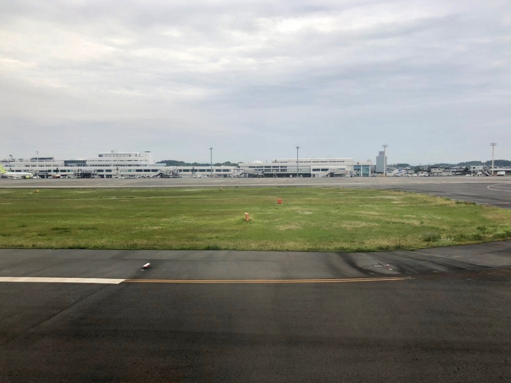 2018年5月 ANA 羽田-鹿児島 鹿児島空港到着