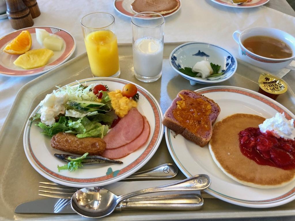 2018年5月 鹿児島県屋久島 「屋久島いわさきホテル」朝食ビュッフェ