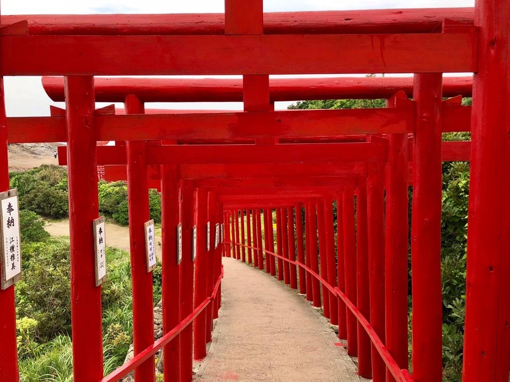 2018年6月 山口県 「元乃隅稲成神社」奉納された123基の鳥居