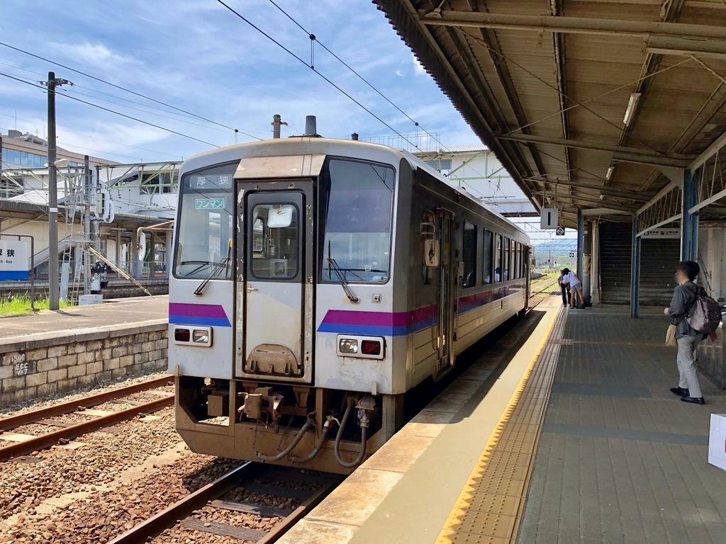 2018年6月 山口県 厚狭駅 JR美祢線