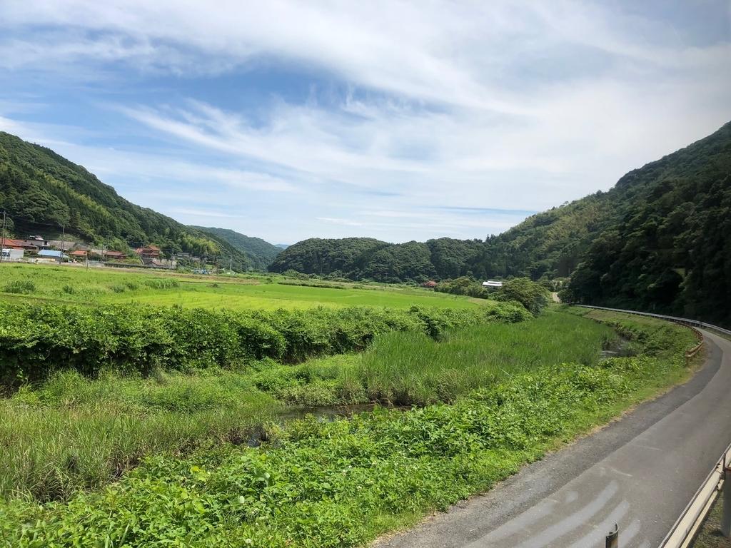 2018年6月 山口県 JR美祢線 厚狭駅から長門市駅 車窓の風景 後半