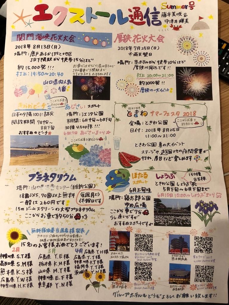 山口県 JR厚狭駅 「エクストールイン山陽小野田厚狭駅前」エクストール通信