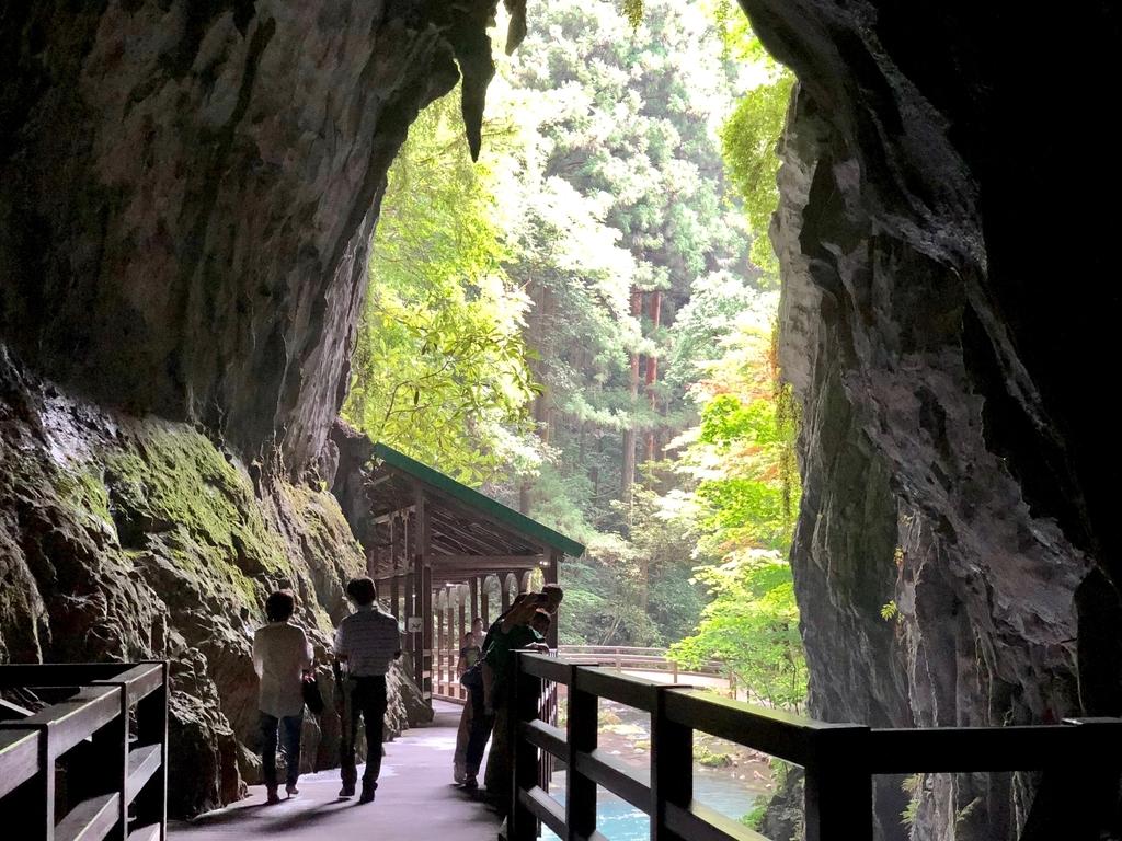 山口県秋吉台国定公園 秋芳洞 正面入口