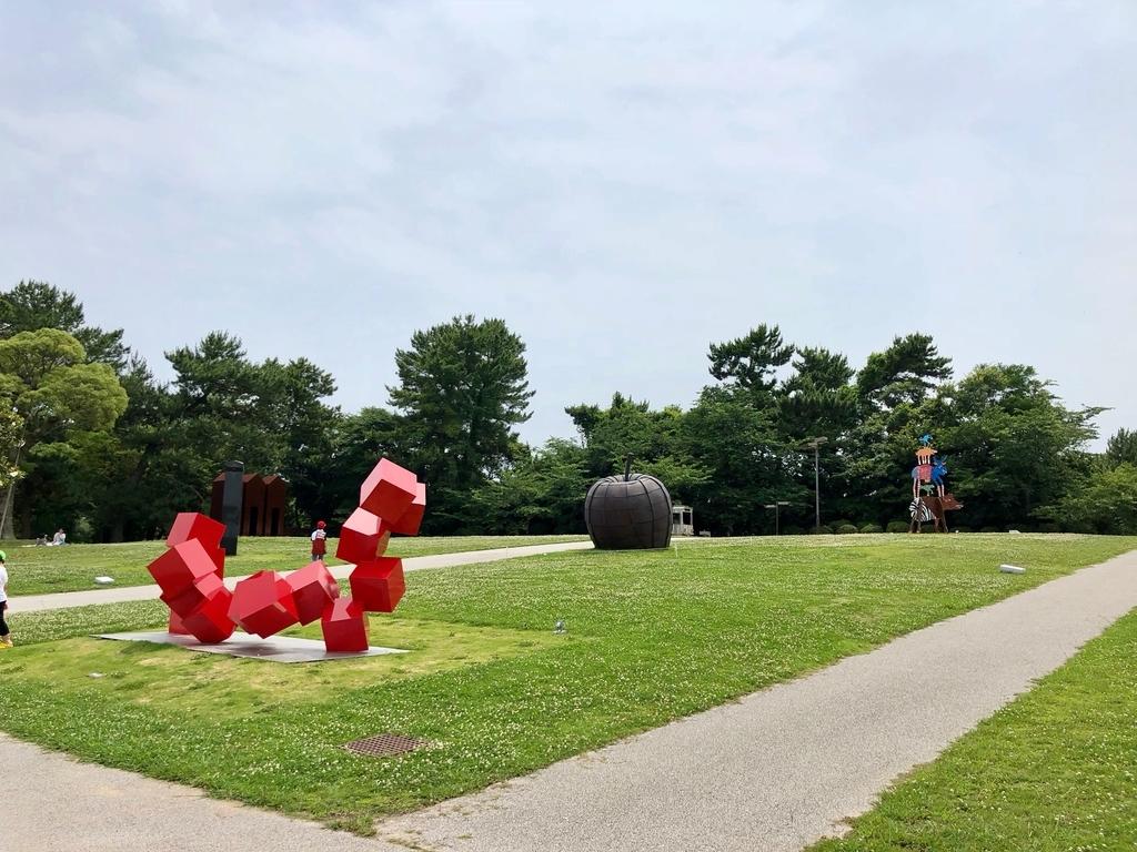 山口県 宇部市 「ときわ公園」ときわミュージアム UBEビエンナーレ彫刻の丘