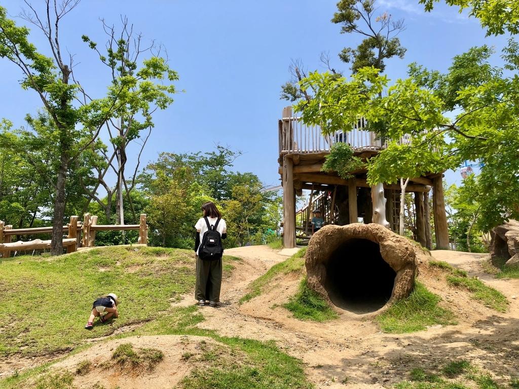 山口県宇部市「ときわ動物園」学習施設ゾーン 「自然の遊び場」