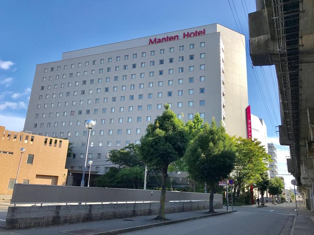 金沢マンテンホテル駅前 外観