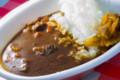 [food] ハイジの村のぶどうカレー