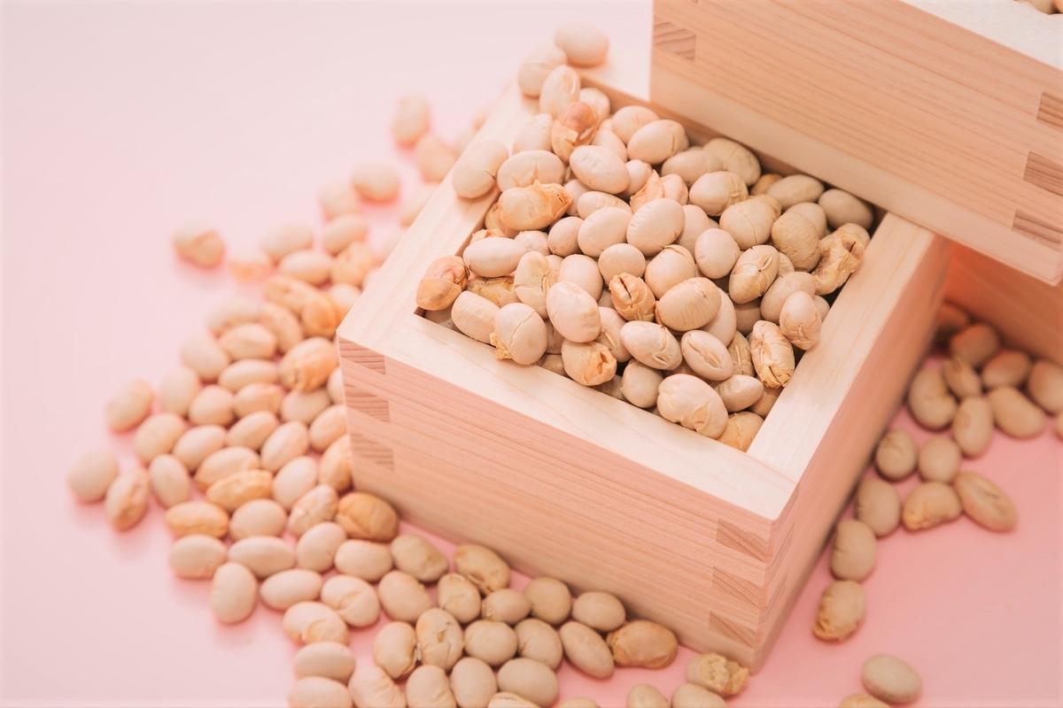 豆まきの大豆
