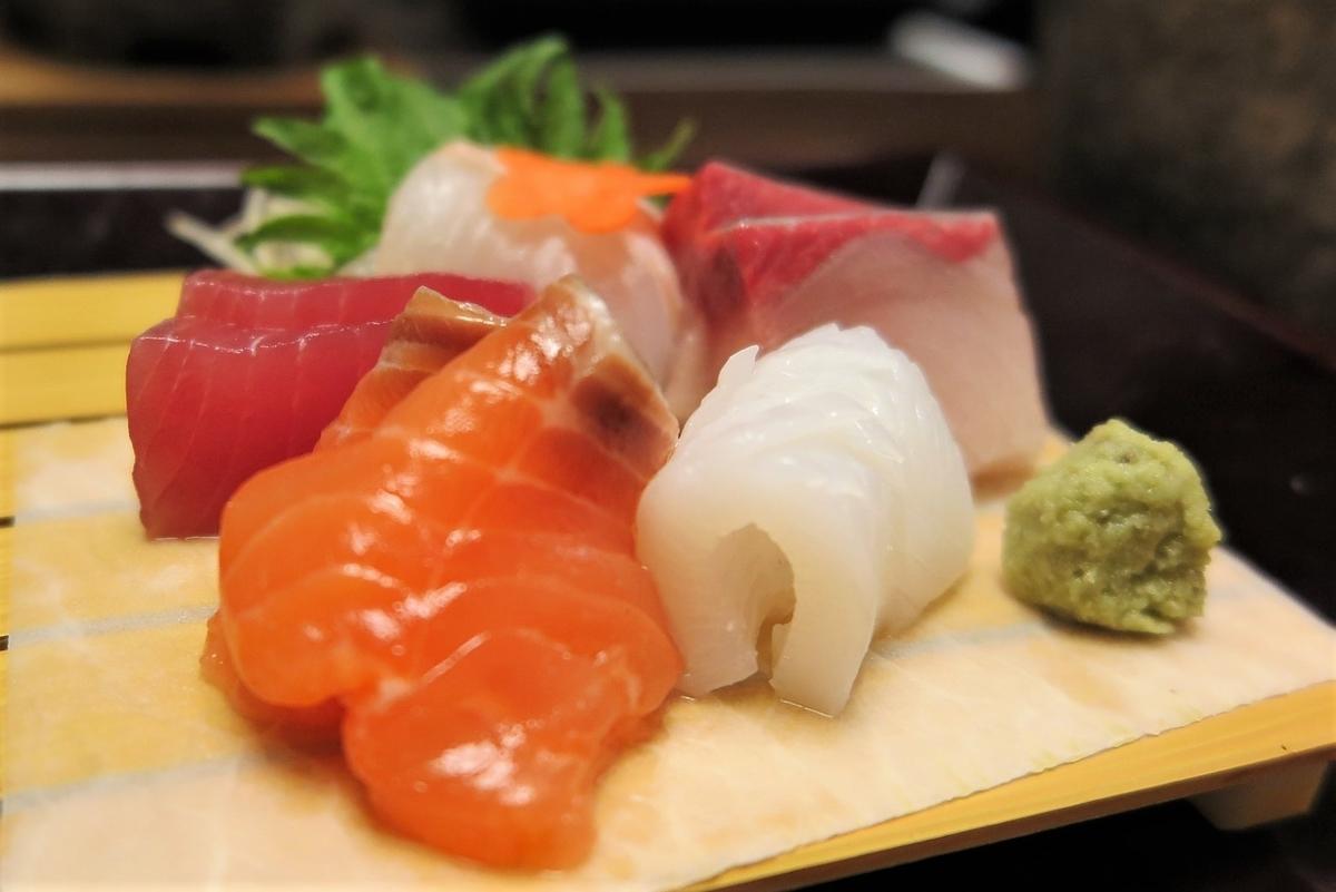 お寿司やお刺身のワサビ