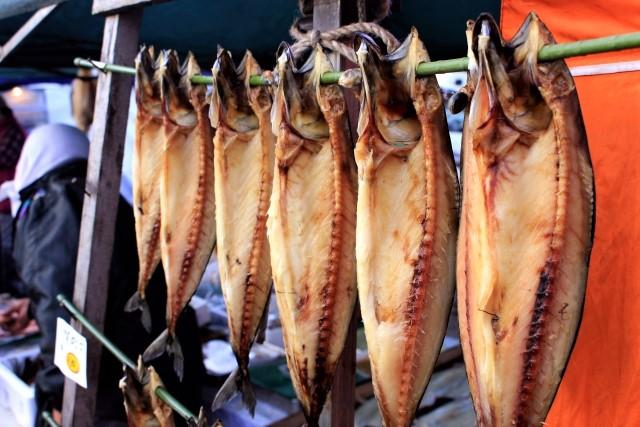 魚の干物の日持ちと保存