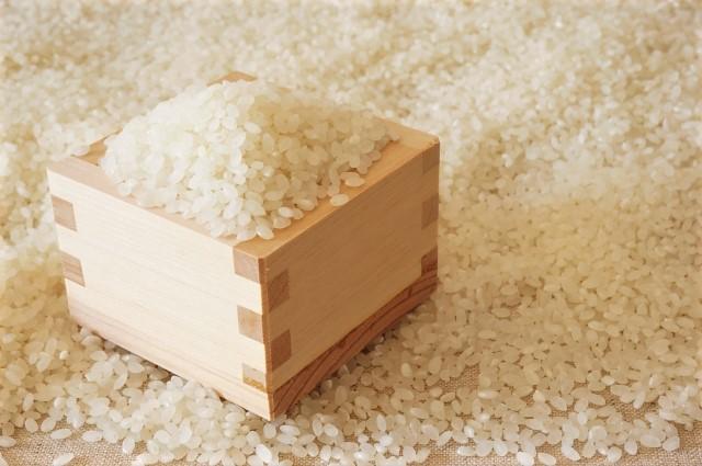 お米を量る