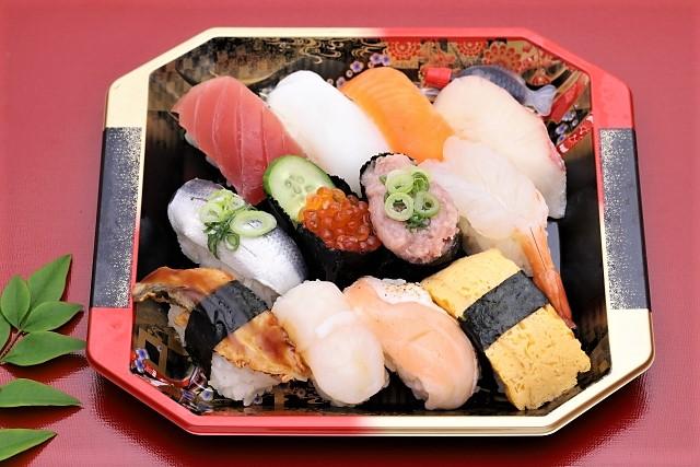 お寿司の安全ライン