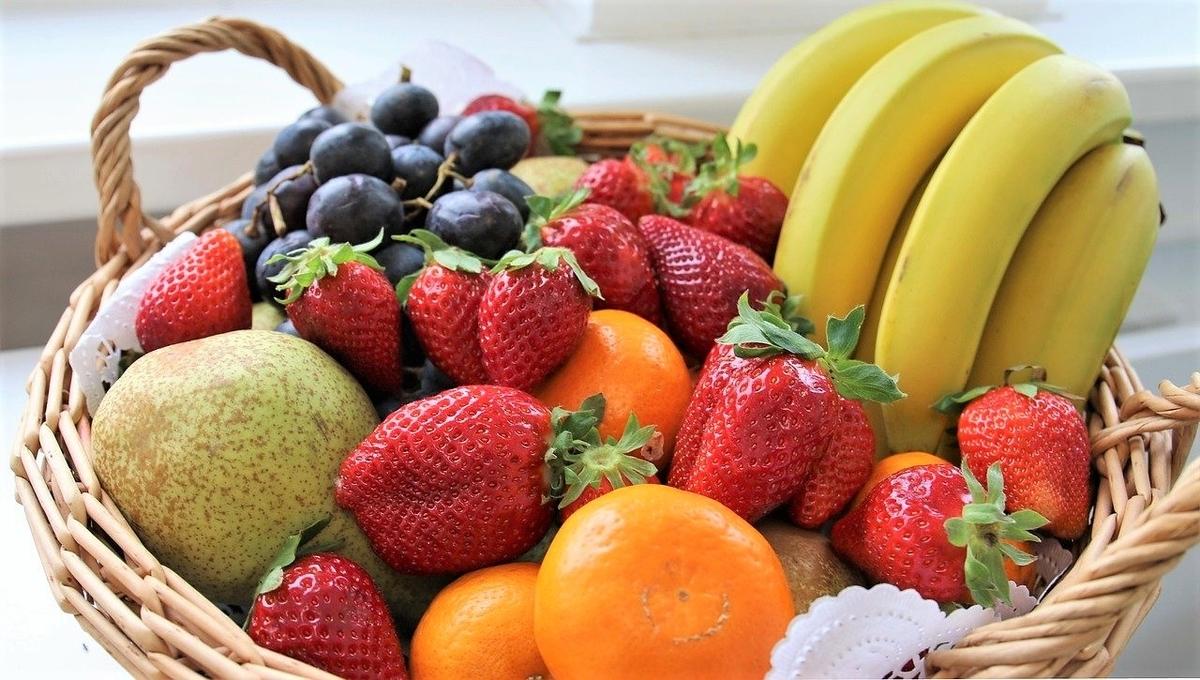 フルーツの皮