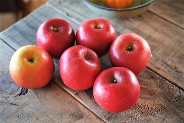 リンゴの加熱