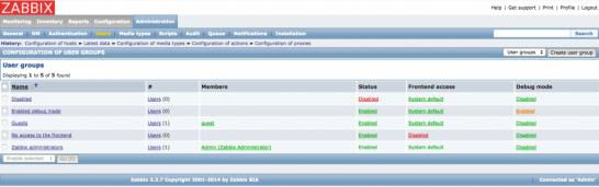 ZabbixからsSMTPを利用してエラー通知メール送信 - rarutechの日記