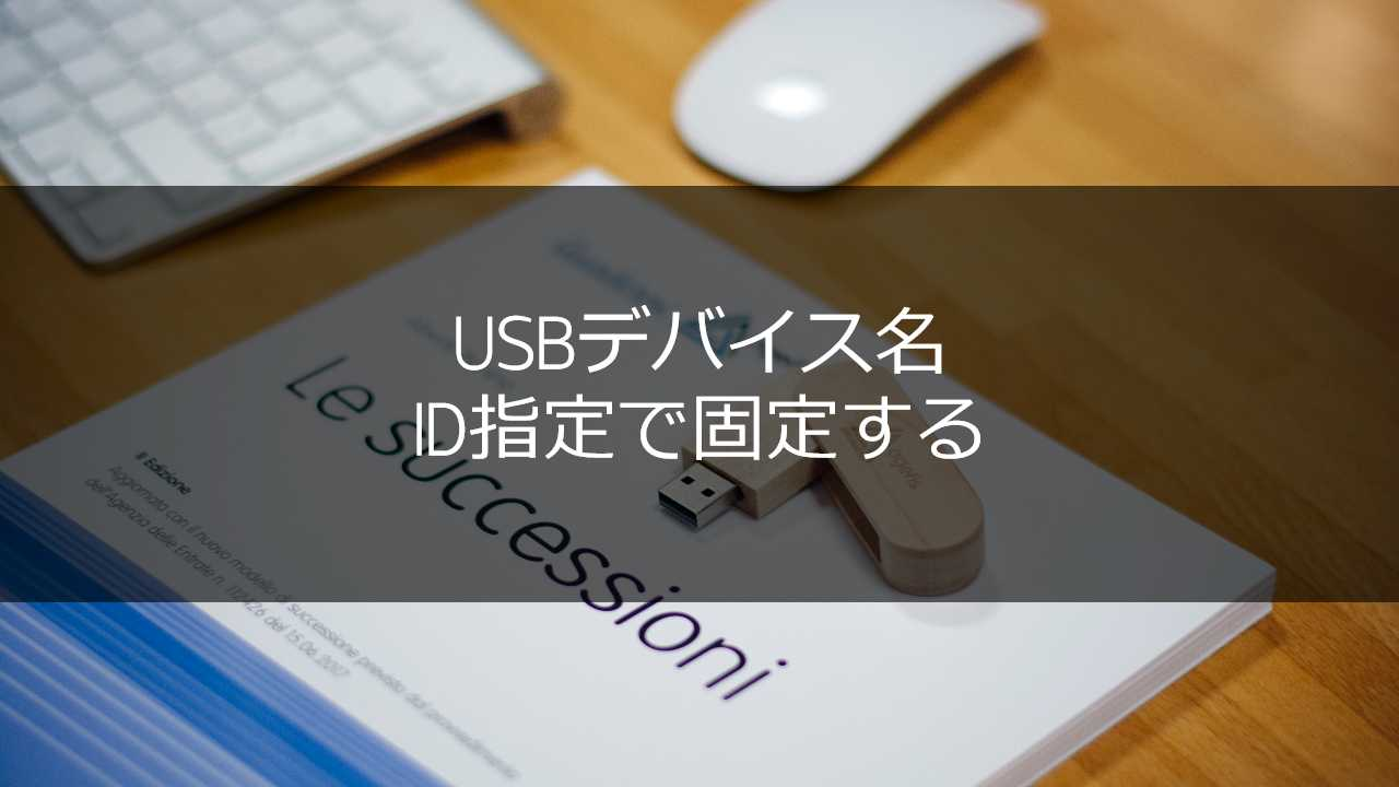 usb device name fix by id