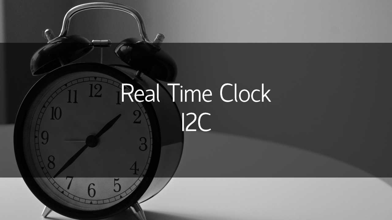 i2c real time clock