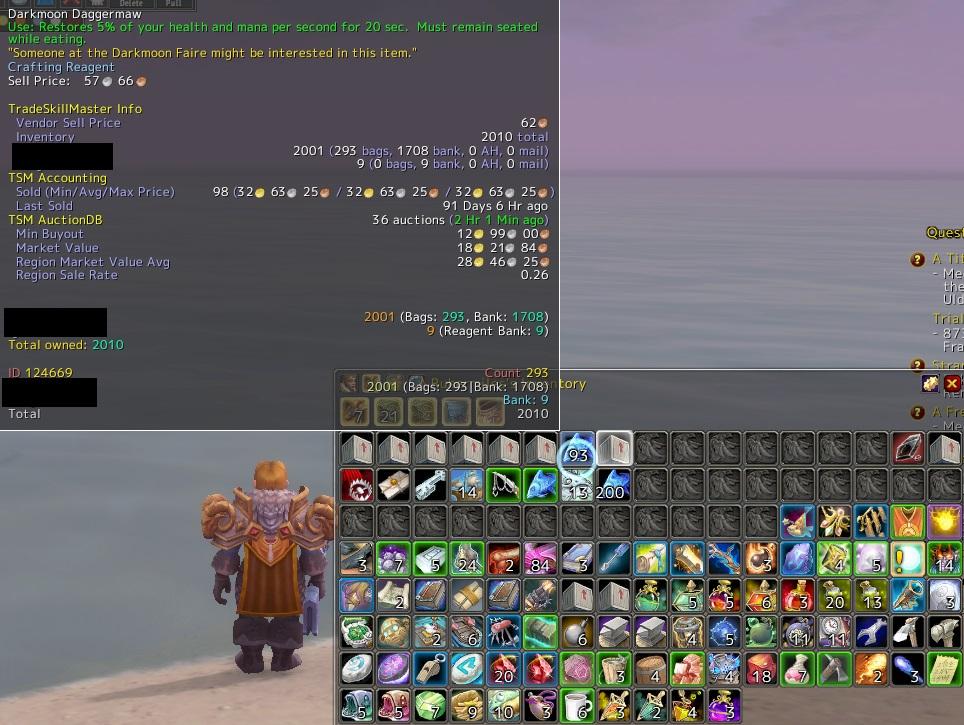 Darkmoon Daggermawを2000匹釣りました