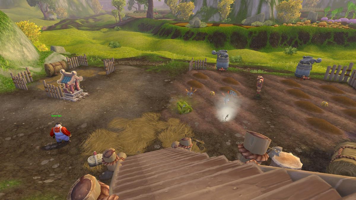 パンダリアの畑の画像