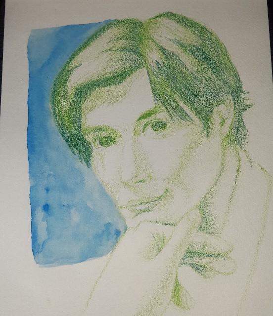 三浦春馬さんを描いた画像