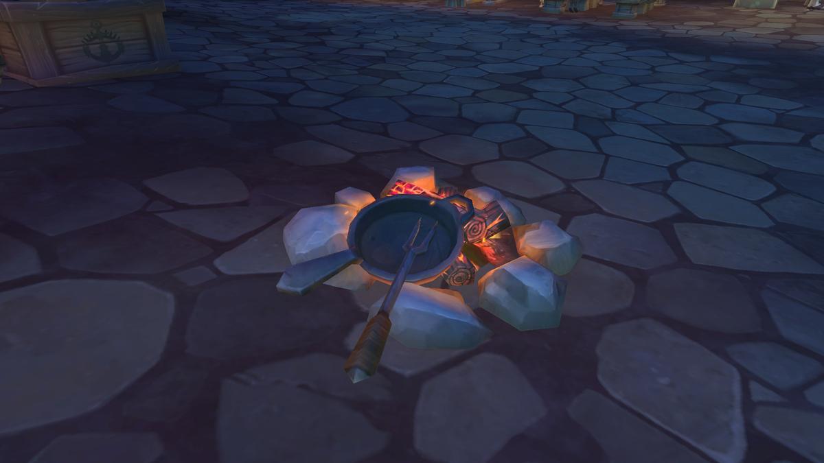 ゲーム内の焚火の画像