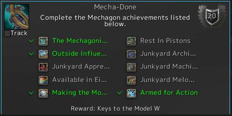 Mecha-Doneアチーブメントの画像