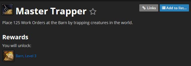 「Master Trapperのアチーブメントの画像」