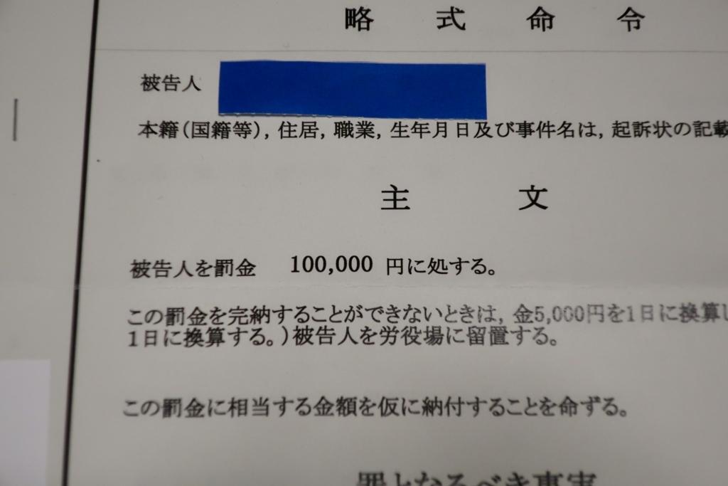 略式 命令 罰金 納付 期限