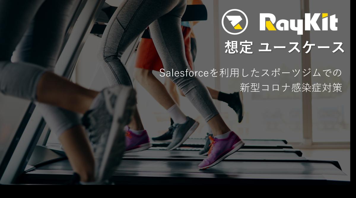 Salesforceを利用したスポーツジムでの  新型コロナ感染対策 ユースケース