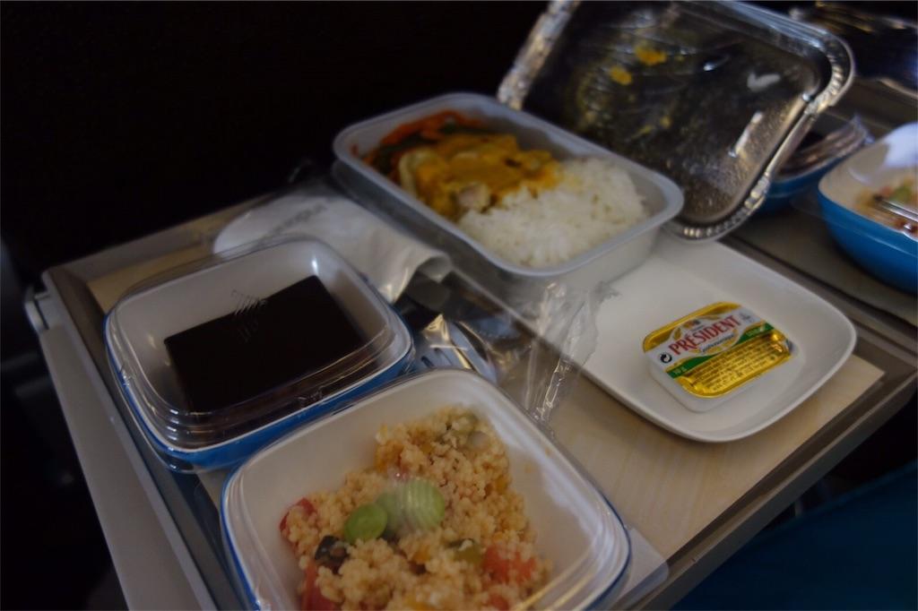 ガルーダ航空 バリ 機内食