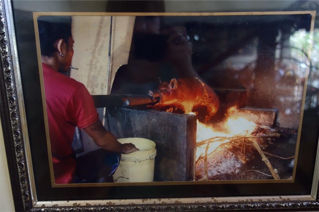豚の丸焼き レストラン