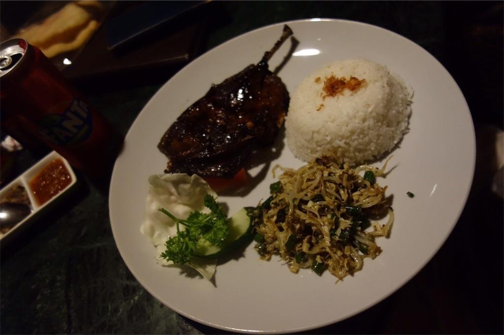 アヒル肉 インドネシア料理