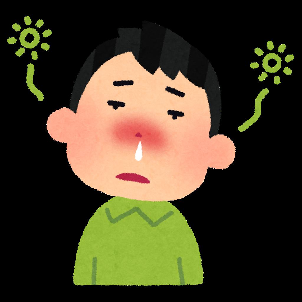 鼻水でつらい人