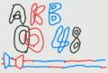 3DSで書いたロゴ用写真