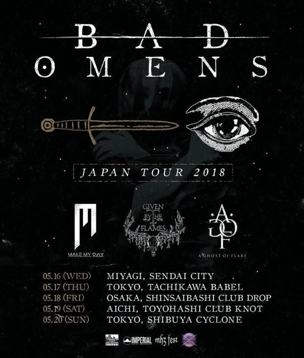 BAD OMENS Japan Tour