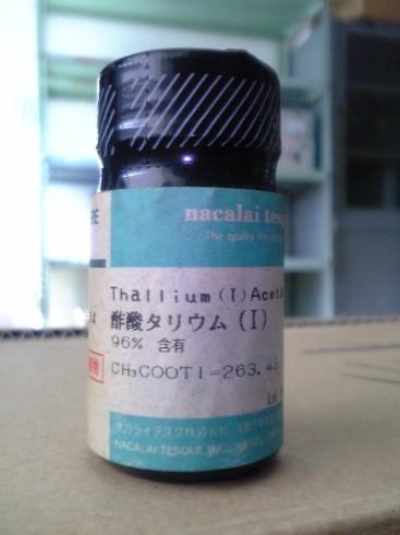 酢酸タリウム