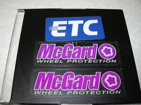 ETC・マックガード ステッカー