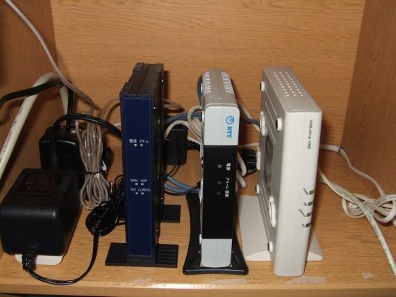 単体型VDSL、加入者網終端装置CTU、ひかり電話対応VoIPアダプタ